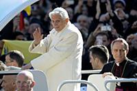 Папа римский Бенедикт XVI выступил со своей последней речью