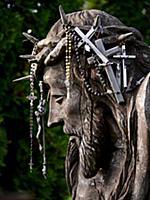 Статуя Иисуса Христа на Горе крестов в Литве, 22 м