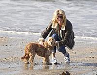 Эксклюзив: Рэйчел Хантер на пляже