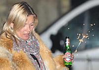 Эксклюзив: Кейт Мосс веселится на вечеринке