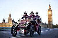 Автопробег ретро-автомобилей в Англии
