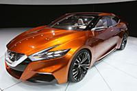 Международная выставка автомобилей в Нью-Йорке