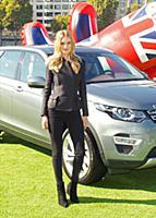 Роузи Хантингтон-Вайтли представляет новый Land Rover Discovery Sport