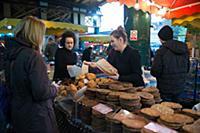 Продуктовый рынок Боро в Лондоне
