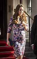 Герцогиня Кембриджская Кэтрин в Лондоне