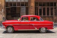 Классические американские автомобили на Кубе