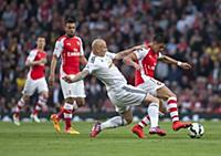 Arsenal v Swansea City, Barclays Premier League