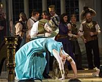 Новыя постановка оперы «Аида» в Лондоне