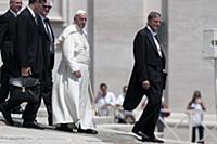 Папская аудиенция в Ватикане