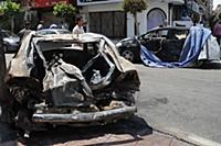 Взрыв бомбы в Египте