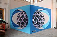 Реалистичное граффити огромных 3D-динамиков