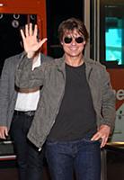 Том Круз в аэропорту Токио