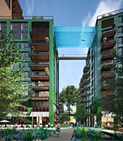 Первый в мире подвесной бассейн