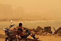 Песчаная буря в Газе