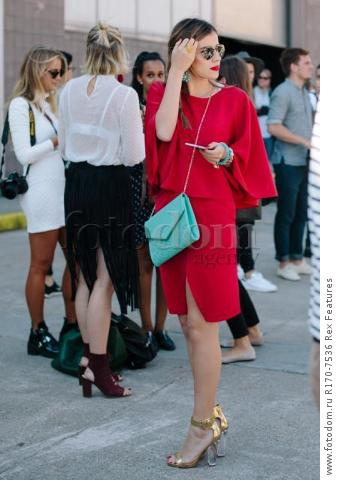 Mandatory Credit: Photo by Liz Devine/WWD/REX Shutterstock (5083791a)