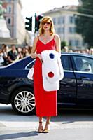 Неделя моды в Милане. Стритстайл