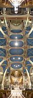 Панорамные фото соборных потолков