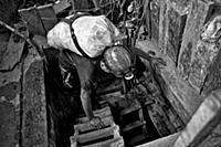Незаконная добыча золота в Колумбии