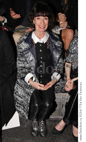Mandatory Credit: Photo by Lodovico Colli di Felizzano/REX Shutterstock (5460040k) Geraldine Chaplin Chanel Metiers d'Art show, Rome, Italy - 01 Dec 2015 French fashion house holds its annual catwalk show and premieres Once and Forever, Karl Lagerfeld's short film starring Kristen Stewart and Geraldine Chaplin. Stewart has also been chosen as the face of the MГ©tiers d'Art advertising campaign Paris-Rome. Showcases the work of ten artisan manufacturers who work for Paraffection, a subsidiary of Chanel which promotes and maintains manufacturing skills