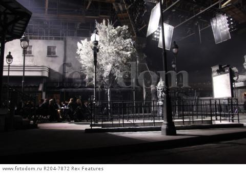 Mandatory Credit: Photo by Lodovico Colli di Felizzano/REX Shutterstock (5460040ao) Set and runway Chanel Metiers d'Art show, Rome, Italy - 01 Dec 2015 French fashion house holds its annual catwalk show and premieres Once and Forever, Karl Lagerfeld's short film starring Kristen Stewart and Geraldine Chaplin. Stewart has also been chosen as the face of the MГ©tiers d'Art advertising campaign Paris-Rome. Showcases the work of ten artisan manufacturers who work for Paraffection, a subsidiary of Chanel which promotes and maintains manufacturing skills