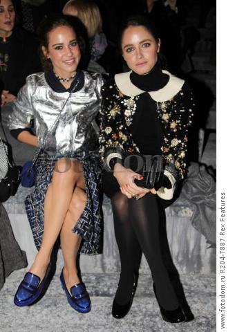 Mandatory Credit: Photo by Lodovico Colli di Felizzano/REX Shutterstock (5460040bd) Matilda Luz and Matilde Gioli Chanel Metiers d'Art show, Rome, Italy - 01 Dec 2015 French fashion house holds its annual catwalk show and premieres Once and Forever, Karl Lagerfeld's short film starring Kristen Stewart and Geraldine Chaplin. Stewart has also been chosen as the face of the MГ©tiers d'Art advertising campaign Paris-Rome. Showcases the work of ten artisan manufacturers who work for Paraffection, a subsidiary of Chanel which promotes and maintains manufacturing skills