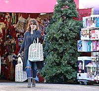 Холли Берри готовится к Рождеству