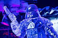 Ледяные скульптуры из «Звездных войн»