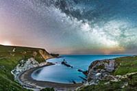 Млечный путь. Ночное небо Британии.
