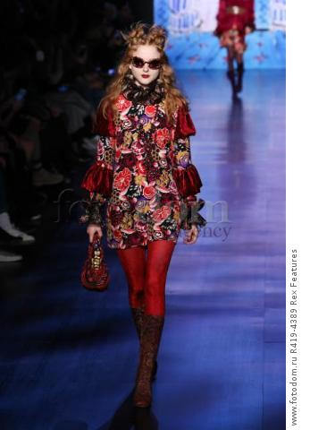 Mandatory Credit: Photo by Amy Sussman/WWD/REX/Shutterstock (8377423aq)