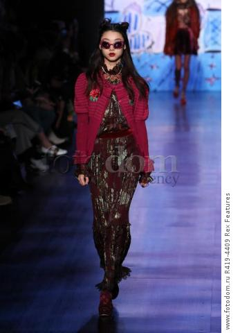 Mandatory Credit: Photo by Amy Sussman/WWD/REX/Shutterstock (8377423bk)