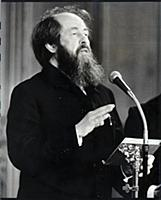 Alexander Solzhenitsyn (died August 2008) In Londo
