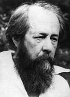 Soviet dissident writer Alexander solzhenitsyn, 19