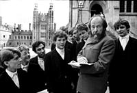 ALEXANDER SOLZHENITSYN AT ETON  IN THE EARLY EIGHT
