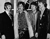 The Beatles. (l-r) Ringo Starr John Lennon Paul Mc