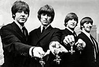 Paul Mccartney George Harrison John Lennon And Rin