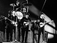 The Beatles at the BBC Studios, London, Britain -
