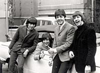 Paul Mccartney And John Lennon Give A Thumbs Up Af