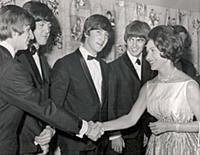 Princess Margaret Shakes Hands With Ringo Starr As
