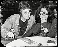 John Lennon And Yoko Ono Pictured Waiting For Thei