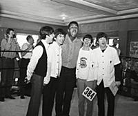 Feb 1964 The Beatles Meet Cassius Clay (now Muhamm