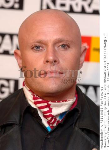 Mandatory Credit: Photo by David Fisher/REX/Shutterstock (606272bd) Keith Flint The Kerrang Awards, London, Britain - 24 Aug 2006