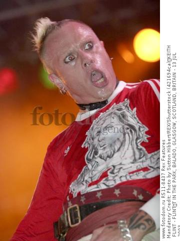 Mandatory Credit: Photo by Sutton Hibbert/REX/Shutterstock (421694ca) KEITH FLINT - FLINT T IN THE PARK, BALADO, GLASGOW, SCOTLAND, BRITAIN - 13 JUL 2003