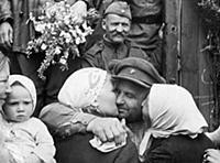 Редкие фотографии военного времени