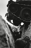 World war 2, battle of kursk, soviet t-34 tank dri