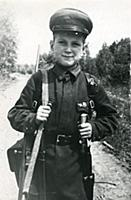 Soviet German Front, October 1942 - Vitya, A Young