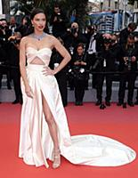 Adriana Lima 'Burning' premiere, 71st Cannes Film