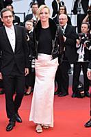 Uma Thurman 'Loveless' premiere, 70th Cannes Film
