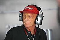 Австрийский автогонщик, чемпион мира Формулы-1 Ники Лауда