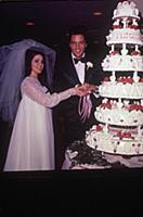 ELVIS PRESLEY MARRIES PRISCILLA BEAULIEU - 1 MAY 1