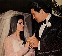 Elvis Presley ,  Priscilla Presley